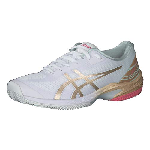 ASICS Donna 1042A146-100_37,5 Tennis Shoes, Bianco, 37,5 EU