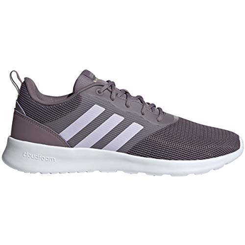 adidas Women's QT Racer 2.0 Running Shoe, Legacy Purple/Purple Tint/Metal Grey, 11.5