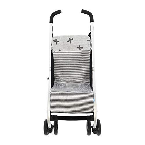 Colchoneta o funda de Paseo para silla Ligera Rosy Fuentes en color negro