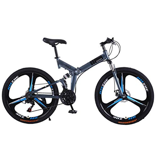 GYDX Foldable Bicycle 26-Inch Mountain Bike Outdoor Activity Bike for Fitness