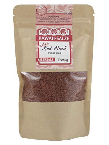direct&friendly Hawaiisalz grobes Hawaii Salz im wiederverschließbaren Doypack (250g rot)