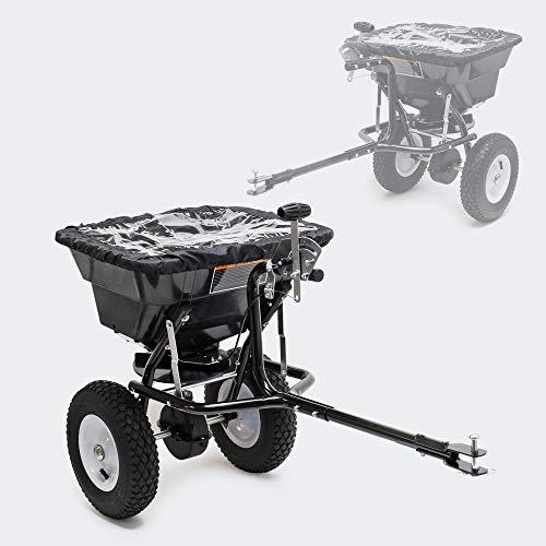 Streuwagen GT1507 mit 29L Kapazität für Dünger, Saatgut, Streusalz u. Sand gleichmäßiges Streuen