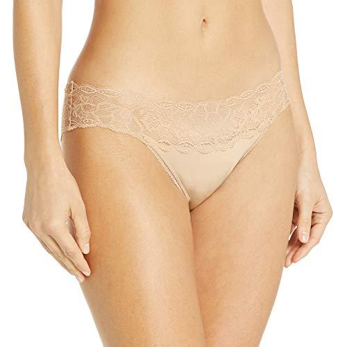 Calvin Klein Bragas de Bikini cómodas seductoras, Bare, S