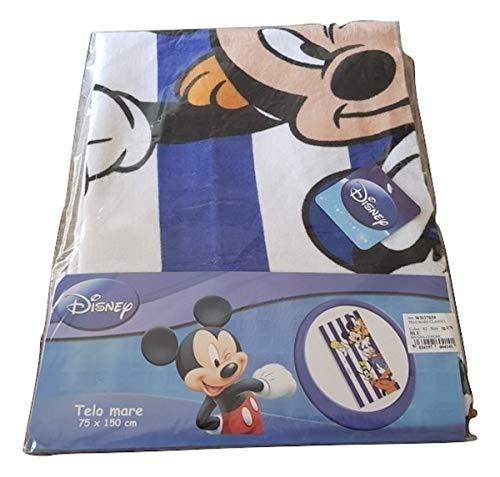 Minnie Toalla de playa de Mickey Mouse + Paperino + Pluto 75 x 150 cm, rizo de algodón