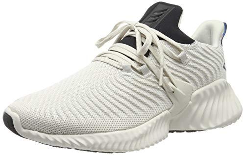 adidas Alphabounce Instinct M, Zapatillas de Running Hombre, Blanco (Raw White/Core Black/Raw White Raw White/Core Black/Raw White), 48 2/3 EU ⭐
