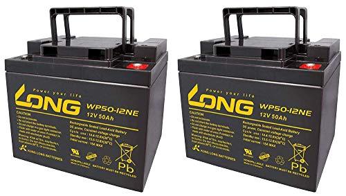 Batería de repuesto Ortopedia Compact 920N 40 2X Kung Long 12V 50Ah batería de plomo ciclo AGM VRLA AKKUman Edition