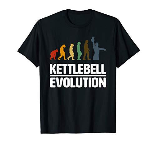 Kettlebell Athletic Evolution Fitness Swing Snatch T-Shirt