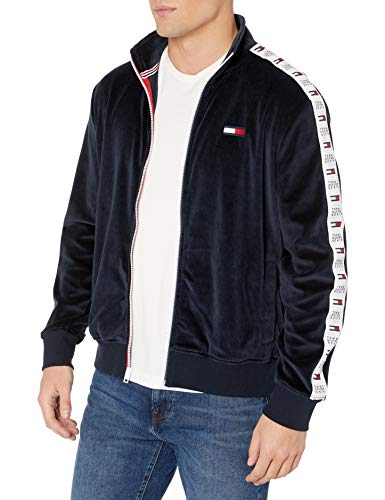 Tommy Hilfiger Men's THD Track Jacket, SKYCAPTAIN, MD