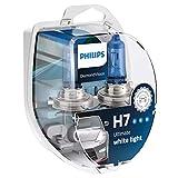 Philips DiamondVision 12972DVS2 bombilla para coche H7 55 W Halógeno - Bombilla para coches (55 W, H7, Halógeno, 5000 K)