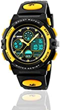 Birthday Present for 6 Year Old Girl - Toys for 3-11 Year Old Boys, Treasure Store Sports Waterproof Digital Watches Analog Smart Girl Watches Ages 5-10 Gifts for 3-11 Year Old Girls Boys (Yellow)