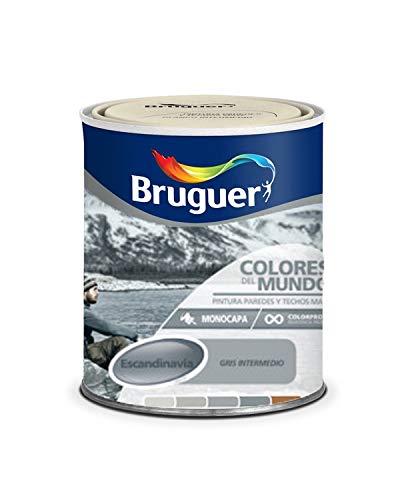 Bruguer Colores del Mundo Escandinavia Gris Intermedio 750 ml.