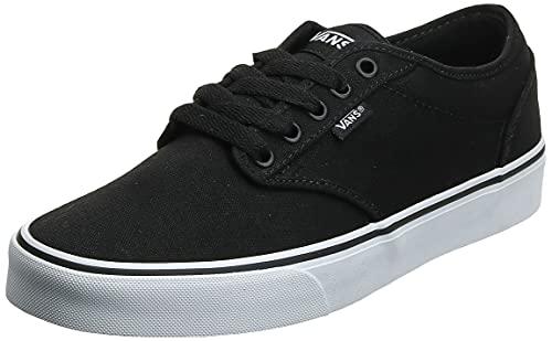 VANS Atwood, Sneaker Uomo, Canvas Black White Tuy, 42.5 EU