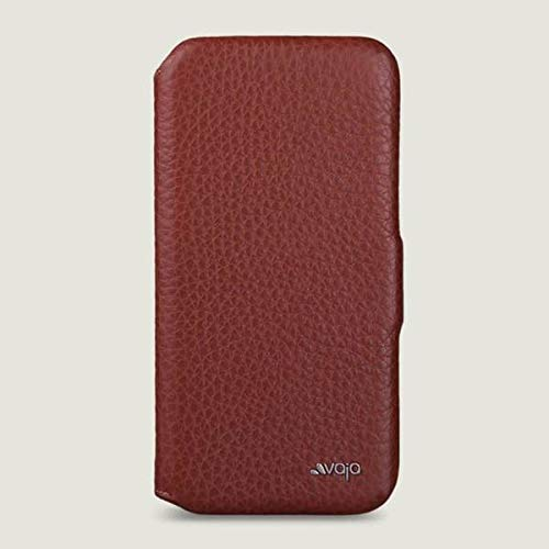 Vaja Folio Stand iPhone 11 Pro Wallet Leather Case (Floater Saddle Tan)