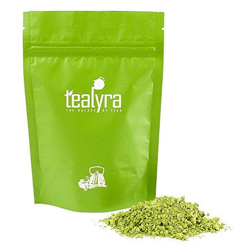 Tealyra - 8oz (220g) - Japanese Premium Matcha Green Tea Powder - Organic - Izu peninsula, Tokyo - Best Healthy Drink