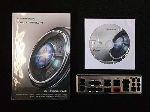 ASRock Z87 Pro4 Handbuch - Blende - Treiber CD
