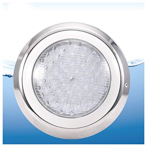 Xt Swimmingpool beleuchtet LED-Wand-Swimmingpool beleuchtet farbenfrohe Edelstahl-Unterwasser-Beleuchtungsaußenpool-Aquarium-Beleuchtungs-Dekoration,45W