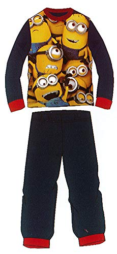 EL DRAGON BLANCO Pijama Minions Negro