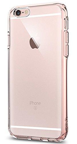 Spigen Funda Compatible con iPhone 6s [Ultra Hybrid] Tecnología de cojín de Aire y protección híbrida de caída
