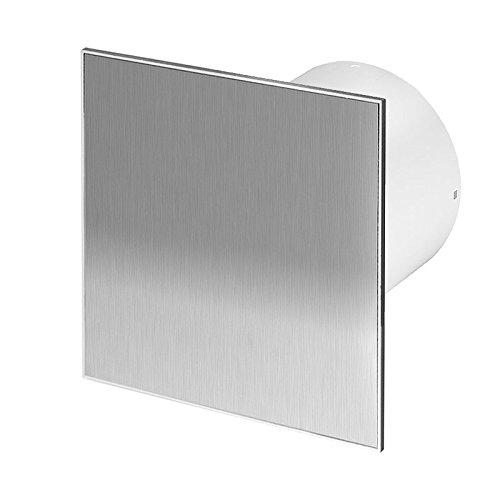 Badlüfter Wand-Ventilator inox Ø 100 mit Nachlauf, Kugellager Silent Trax - Line System+
