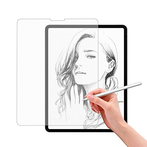 Nillkin Write Like Paper Screen Protector Compatible With iPad Pro 12.9 Inch 3rd & 4th Gen (2018 & 2020),Write, Draw and Sketch with the Apple Pencil Like on Paper Matte Screen Protector