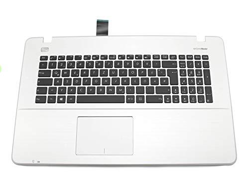 ASUS F751LJ Original Tastatur inkl. Topcase DE (deutsch) schwarz/Silber