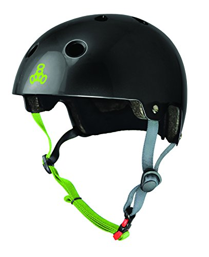 Big Save! Triple Eight Dual Certified Bike and Skateboard Helmet