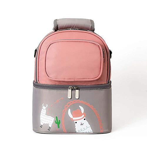 Multifunktionaler Rucksack für Reisekonservierung und Kühlung mit großer Kapazität für Mutter und Baby - wasserdicht und umweltschonend - Babyflaschenbox