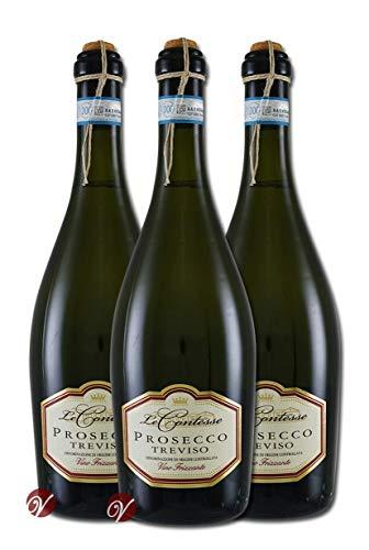 Prosecco Frizzante DOC Treviso (3 Fl. x0,75l) Le Contesse