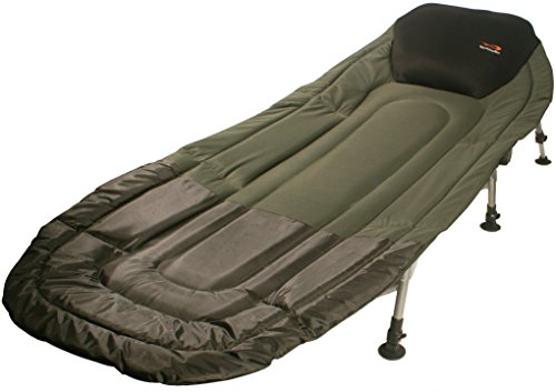 Carp Fishing Bedchair TF GEAR Chill Out Bed Chair 3 legs with adjustable feet