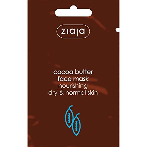 Ziaja Manteca De Cacao Mascarilla Facial Individual 7Ml, Multicolor