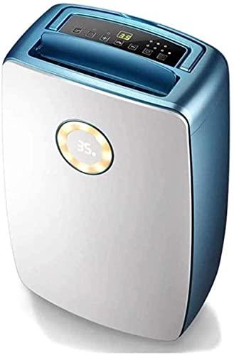 Deumidificatore per un massimo di 1500 piedi quadrati con 4 modalità e visualizzazione della temperatura Filtro aria riutilizzabile, ideale per seminterrato, camera da letto, bagno, 50 pinta