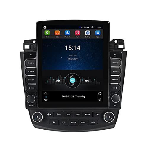 ADMLZQQ para Honda Accord7 2003-2007 Doble DIN Android Car Stereo Car MP5 Player 9.7 Pulgadas Pantalla Táctil Radio De Coche Bluetooth GPS FM Cámara Trasera Controles del Volante,Ts150 WiFi:2+32g
