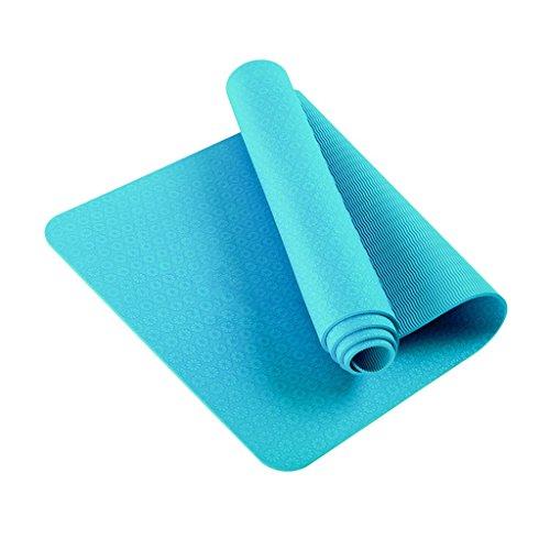DNSJB yogamat dikke 10 mm antislip fitnessmat deken verdikte uitgebreide yogamat