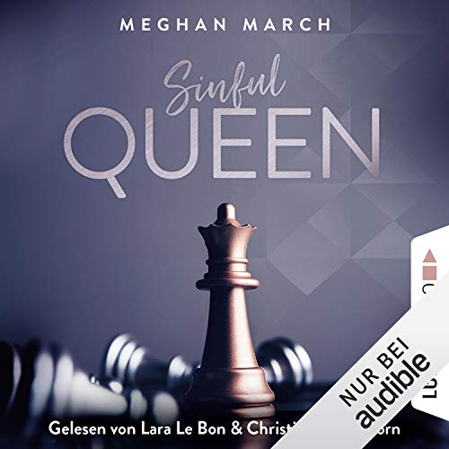 Sinful Queen audiobook cover art