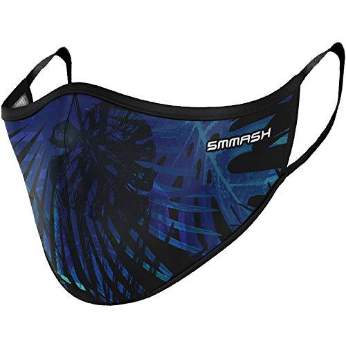 SMMASH Sommer Maske, Mundschutz Maske Wiederverwendbar, Licht, Leichtes Atmen, Gesichtsmaske Waschbar, Hergestellt in der Europäischen Union, maske für Damen und Herren (L/XL)