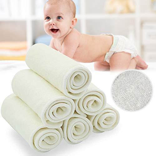 Vierlagige Bambusfaser-Windeln für Babywindeln