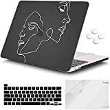 iCasso Macbook Pro 13 inch 2020 Release A2251 A2289, Plastic Hard Shell Case