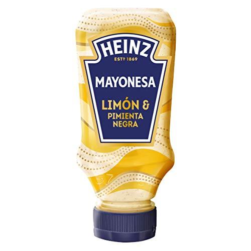 Heinz - Zitronen-Pfeffer-Mayonnaise - Das Dressing, das Sie in Ihrem Leben brauchen - 240 g