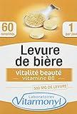 VITARMONYL • Levure de Bière Biotine: Peau et Cheveux • Lot de 2 • 500 mg •...