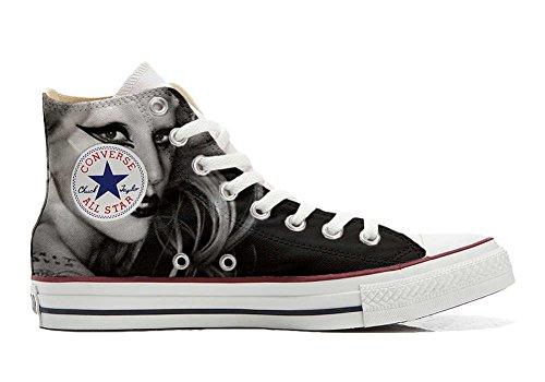 Sneakers Unisex American USA - Base Print Vintage 1200dpi - Cutomized - personalisierte Schuhe (Handwerk Produkt) high Fashion Size 44 EU