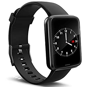 Fashion Shopping Lintelek Smart Watch, Smartwatch Blood Pressure Monitor, Fitness Watch HR with Sleep Monitor Compatible with iPhone…