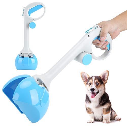 keyren Scooper mit Müllsack Pet Picker, Dog Pooper Scooper Wiederverwendbarer professioneller Welpe für die Beseitigung von Hundemüll Haustiere im Freien Haustierabfallentfernung