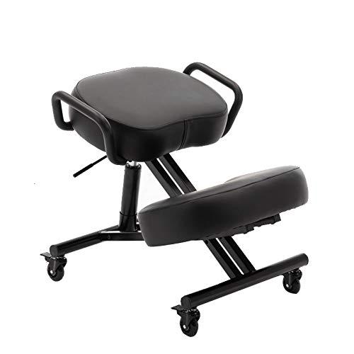 TXX Stühle Für Die Schüler Haushalt Büro Stuhl Kniend Computer Lernen Posture Learning Chair Metall Haltungskorrektur Es Gilt Für Familie Büro Einstellbar/B/Load bearing150kg