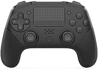 YYKJ Contrôleur sans fil PS4 léger, manette sans fil Bluetooth PS4, turbocompresseur, jeu pavé tactile pour Playstation 4/...