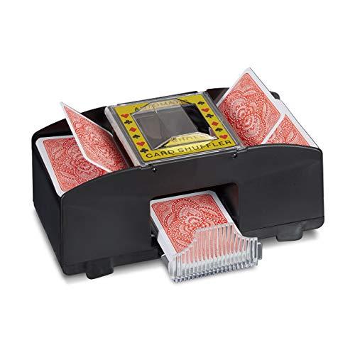 Relaxdays -   Kartenmischmaschine