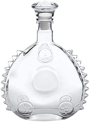 Louis XIII Leere Weinflasche, Stil der 1920er Jahre Cognac oder Whisky, Decanter, Sealed Glasweinflasche mit Deckel, 750 ml EIS-Skulptur Decanters Xuan - Worth Having