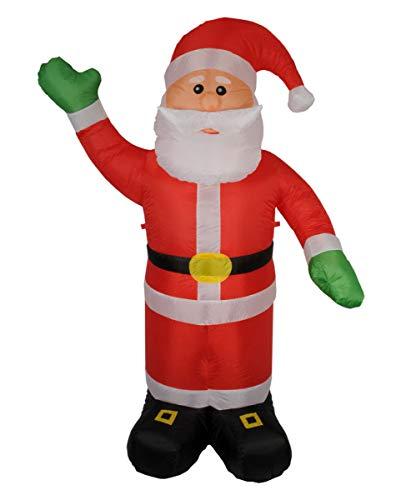 Nikolaus Babbo Natale gonfiabile 240 centimetri