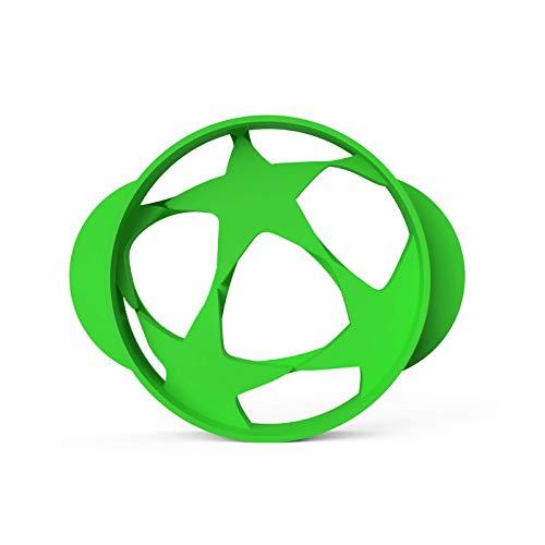 Fußball Keksausstecher Jungs Fussball Ausstecher │ inkl. 2 Rezepten │ Bio-Kunststoff │Made in Germany │ Fussball Feld Ball Trikot Ausstechform Kindergeburtstag für Tortendeko (Fußball Champion klein)
