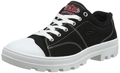 Skechers womens Roadies-true Roots Sneaker, Black, 8.5 US