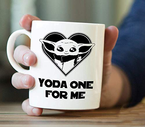 Baby Yoda Mug, Baby Yoda Coffee Mug, Baby Yoda One For Me...